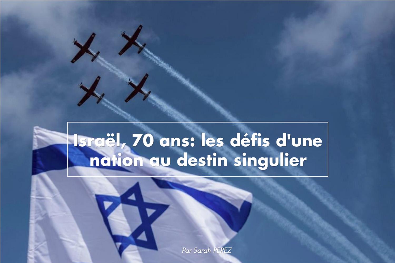 Israël, 70 ans: les défis d'une nation au destin singulier