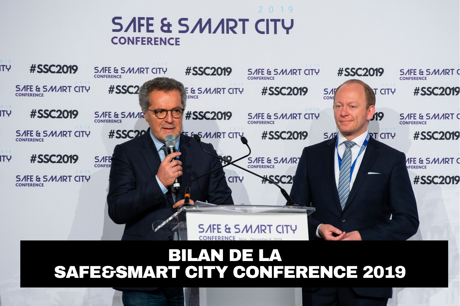 Bilan de la Safe & Smart City 2019